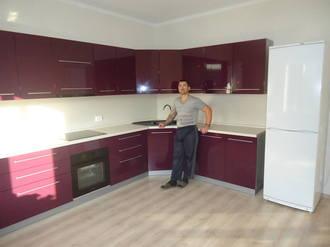 Кухонный гарнитур баклажан глянец Стоимость 143000 ₽