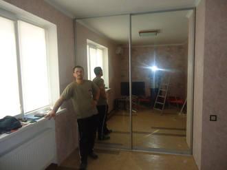Зеркальный шкаф купе для спальни Стоимость 18000 ₽