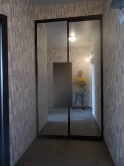 Зеркальные двери купе Стоимость 15000 ₽