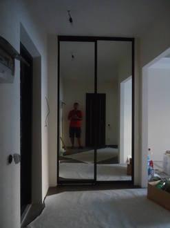 Двери купе зеркальные Стоимость 14000 ₽