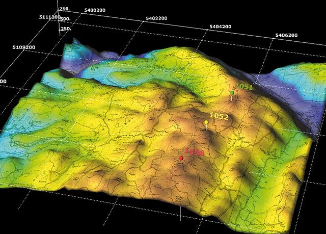 электронная геологическая карта