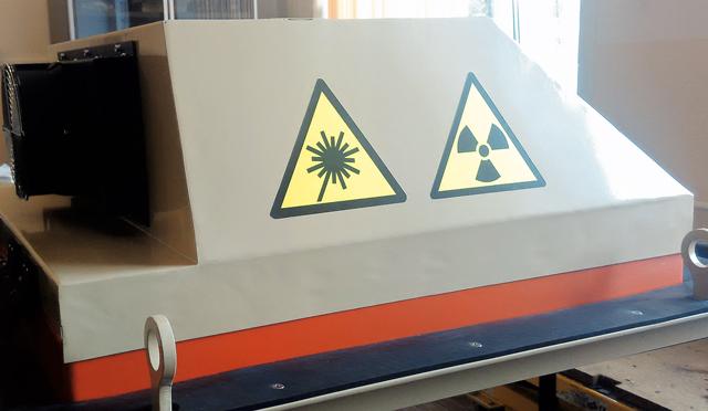 энергодисперсионный анализатор с лазерной триангуляцией типа «СканХ-3D»