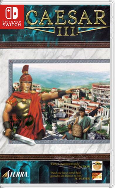 Caesar III Switch homebrew NSP
