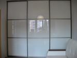 Двери купе с матовым стеклом