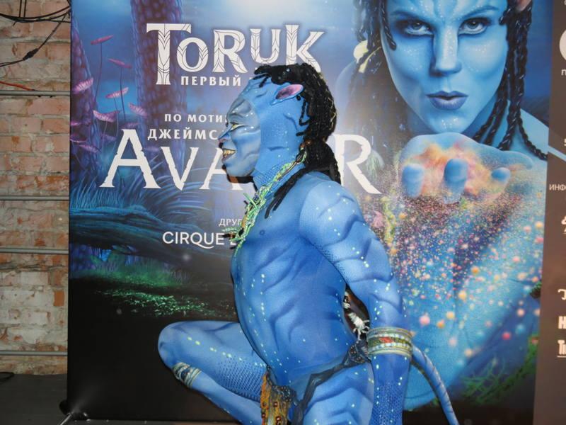 ТОРУК – Первый полет Cirque du Soleil