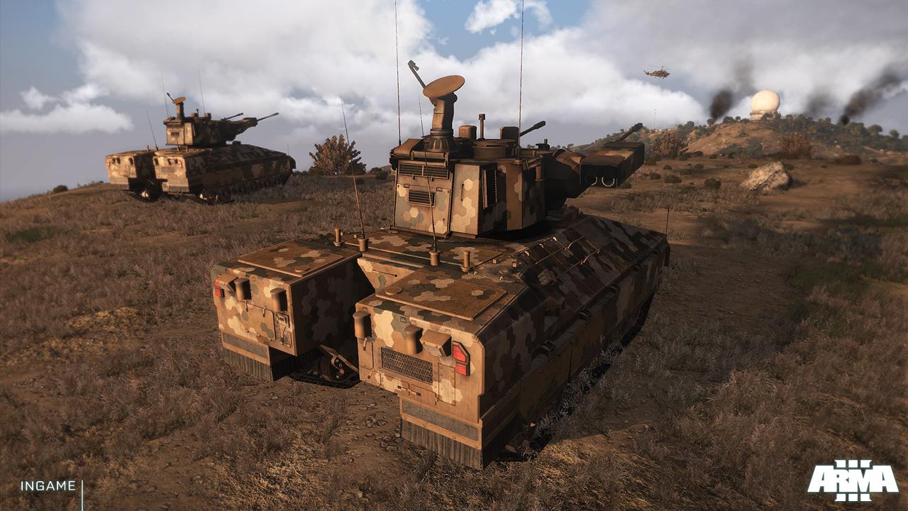 Скриншот Arma 3: Apex Edition (2013) RePack от R.G. Механики скачать торрент бесплатно