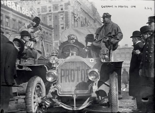 Гонка века 1908 года
