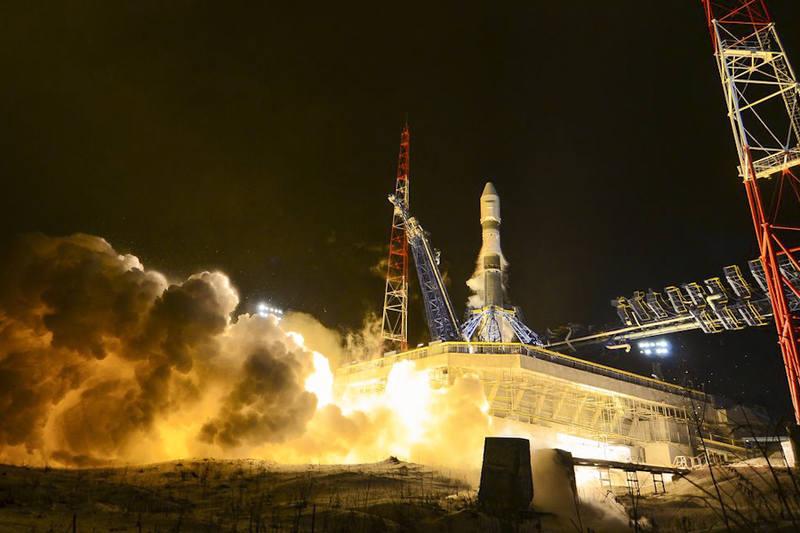 взрыв на космодроме Плесецк