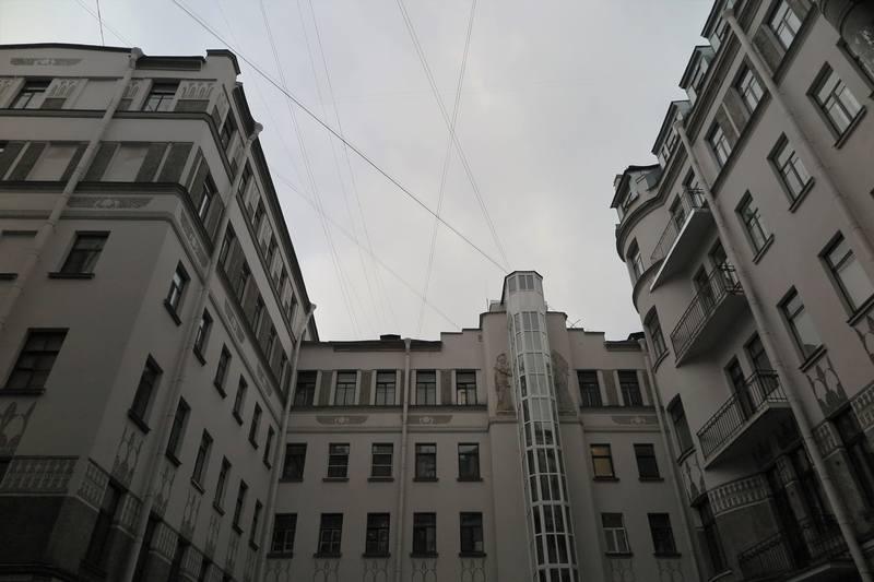 Египетский дом С-Петербурга