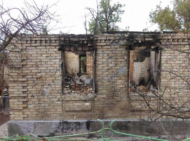 пожар в школе-интернате в Махачкале