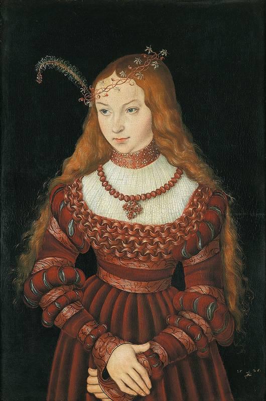 портрет Сибиллы Клевской
