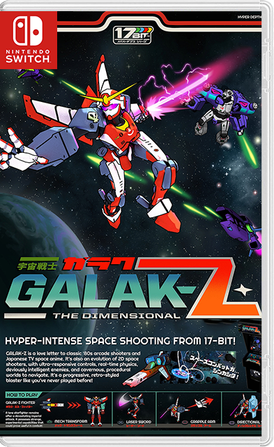 GALAK-Z: The Void Deluxe Edition + Variant S Switch NSP