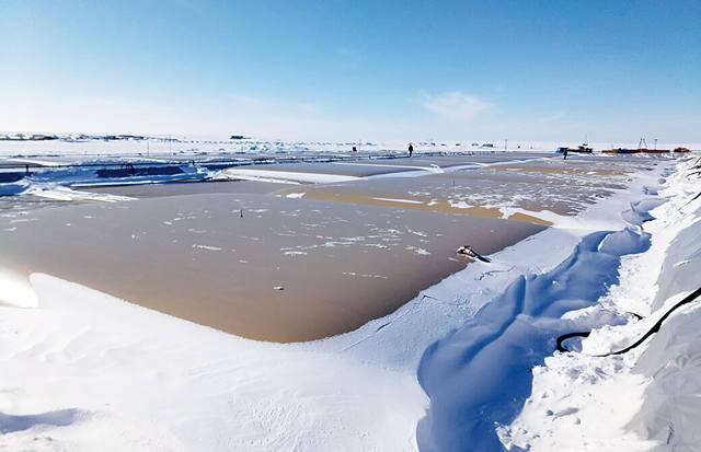 Эластичные нефтяные резервуары