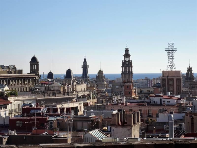 Барселона с собора