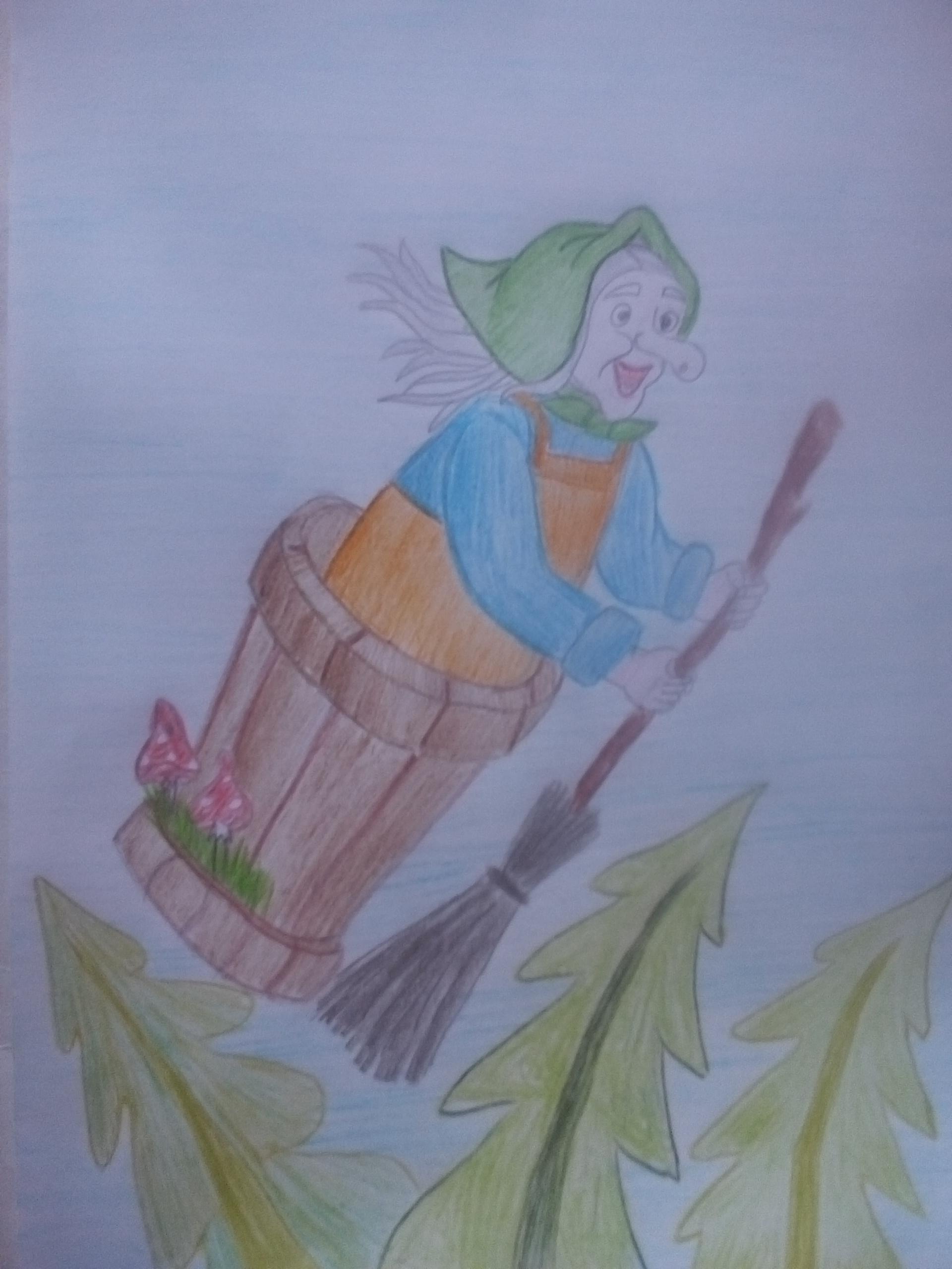 Картинки к произведению чайковского баба яга