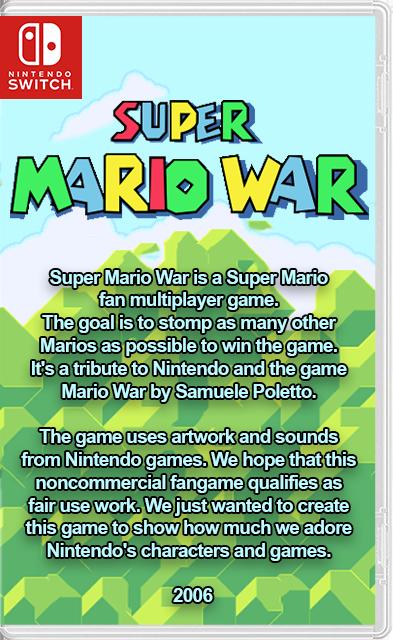 Super Mario War NX Switch NSP