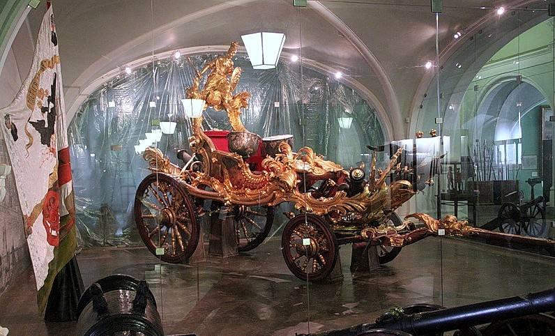Парадная литавренная колесница