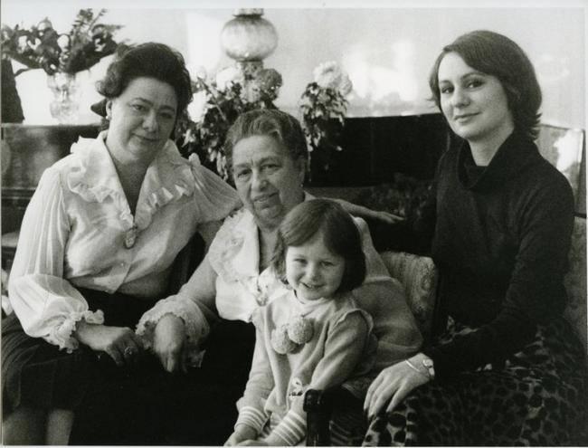 семья Брежнева