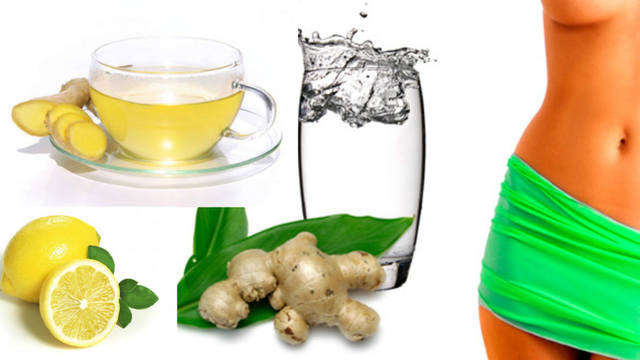 Зеленый и имбирный чай для желающих похудеть