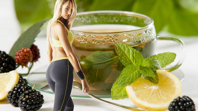 За счет чего зеленый чай оказывает эффект похудения