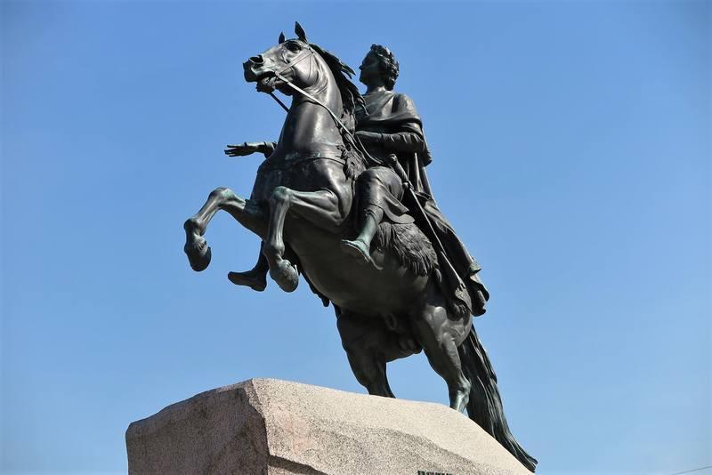 Санкт-Петербург. Памятник ПетруI