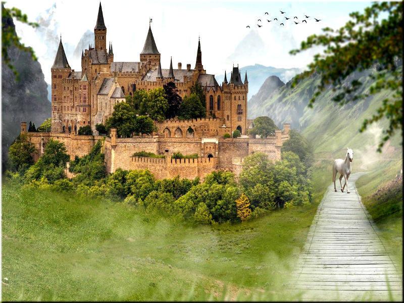 Картины и фотографии старинных замков