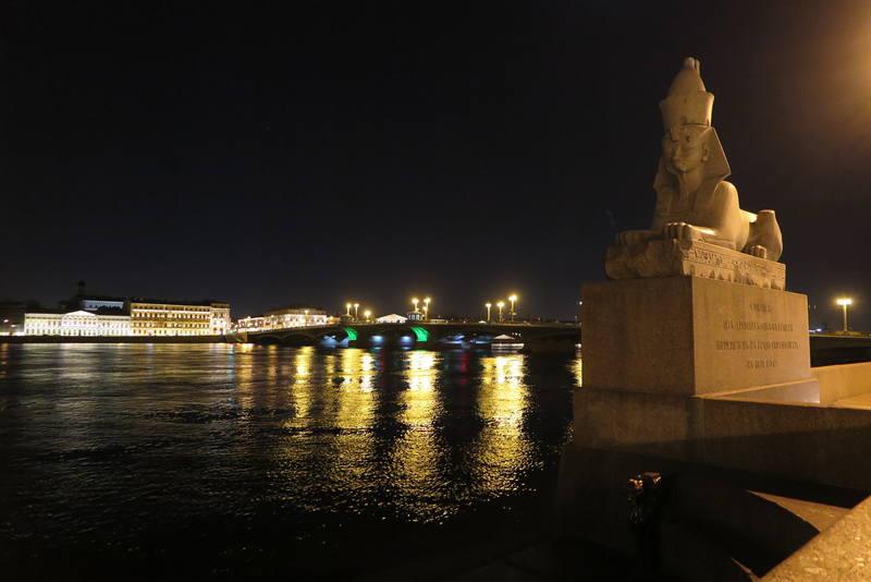 Ночной С-Петербург