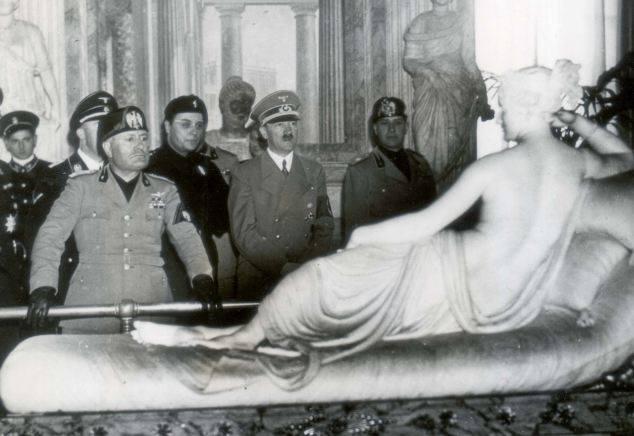 Hitler-Mussolini-art