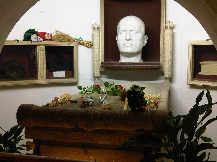 Predappio tomba