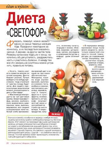 Рецепты Диеты Светофор.