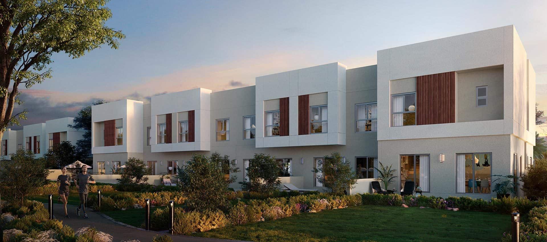 Dubai Properties Amaranta Townhouses in Villanova, Dubailand