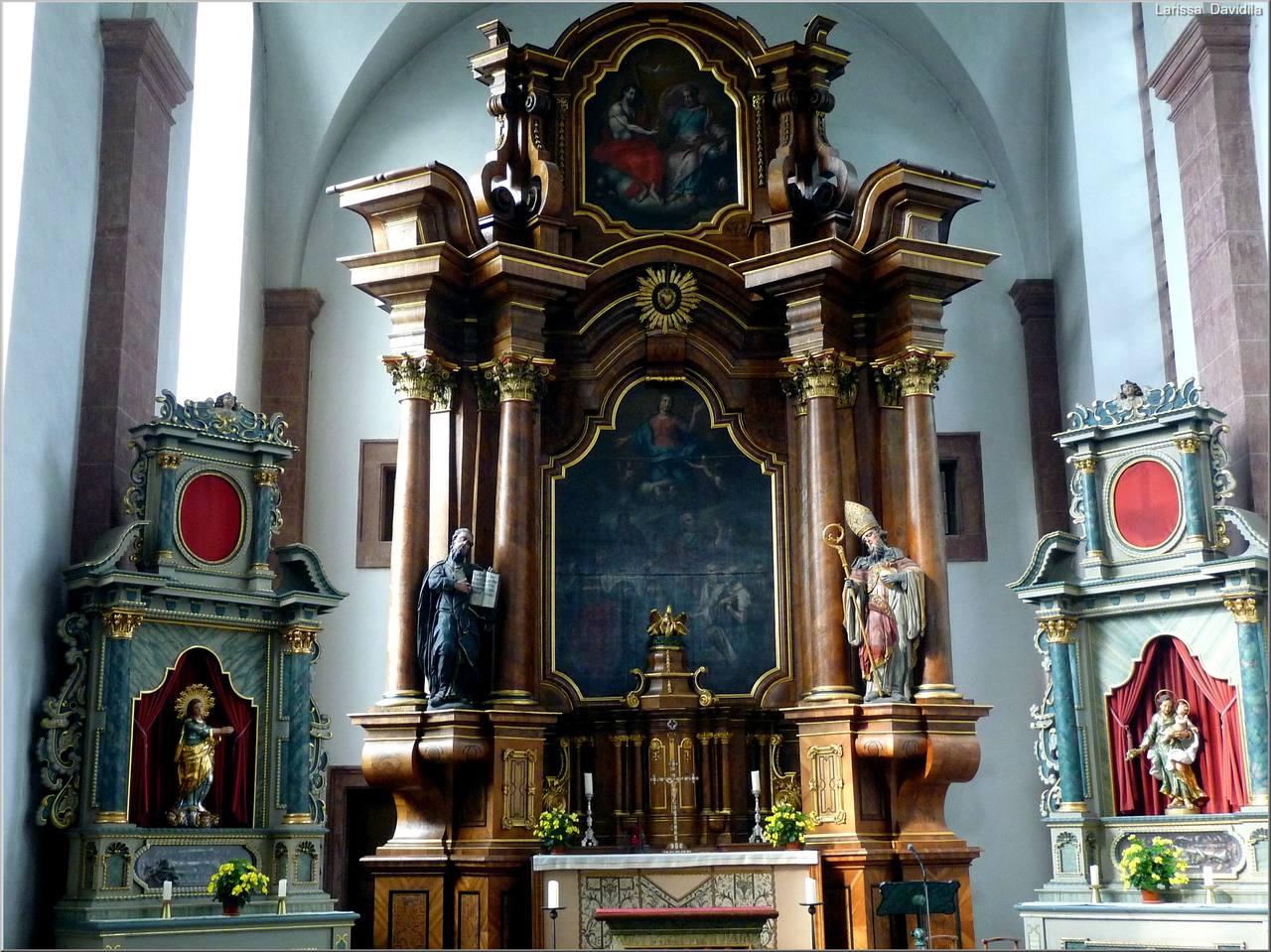 Trier. St. Paulin (2)