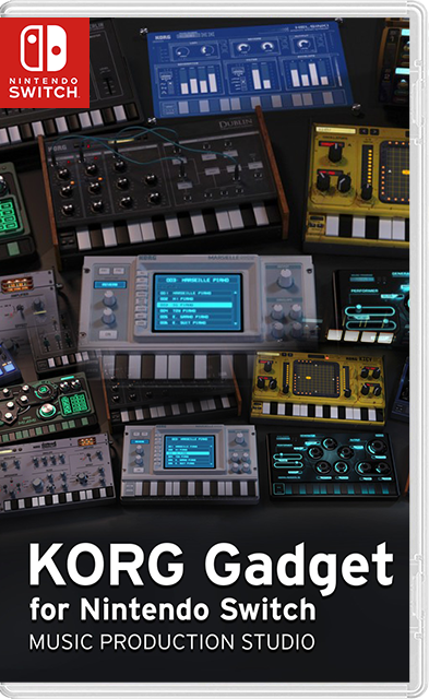 KORG Gadget Music Sequencer Switch NSP - Switch-xci com