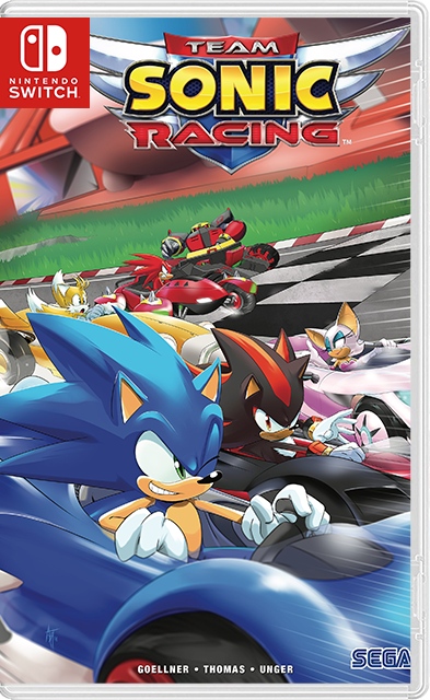 Team Sonic Racing Switch NSP