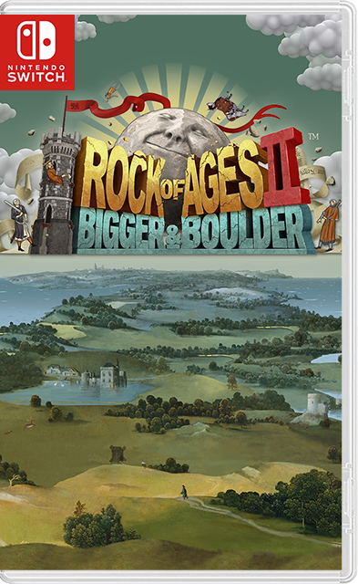 Rock of Ages 2: Bigger & Boulder Switch NSP