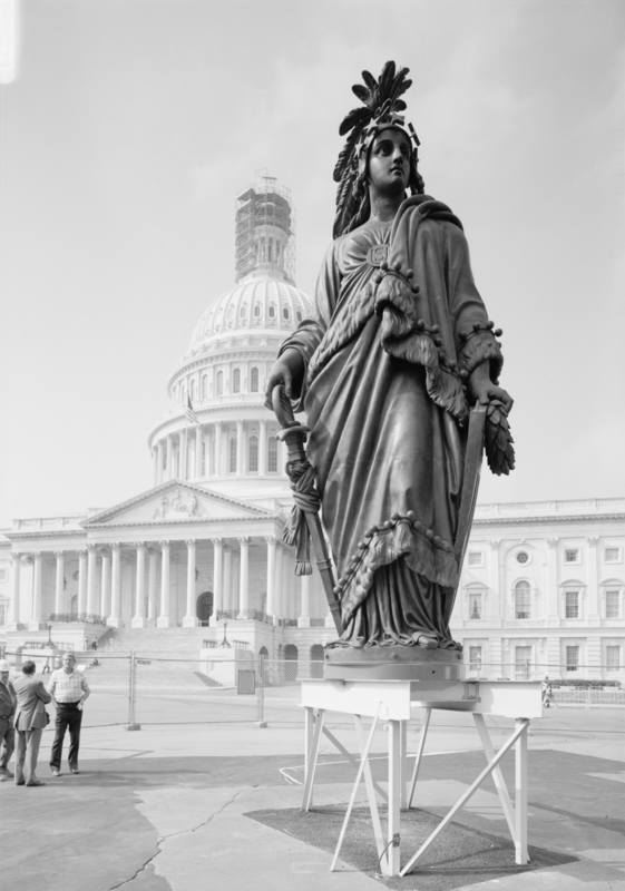 Statue of Freedom on Capitol Dome