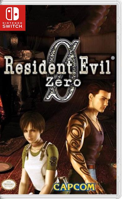 Resident Evil 0 Zero Switch NSP