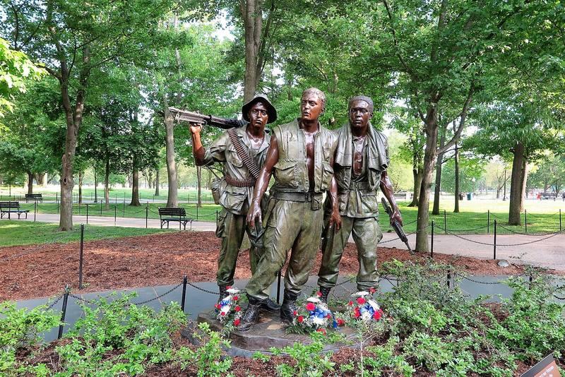 Мемориал погибшим во Вьетнамской войне