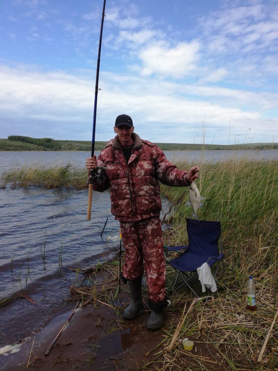 Зимния рыбалка на кутулукском водохранилище