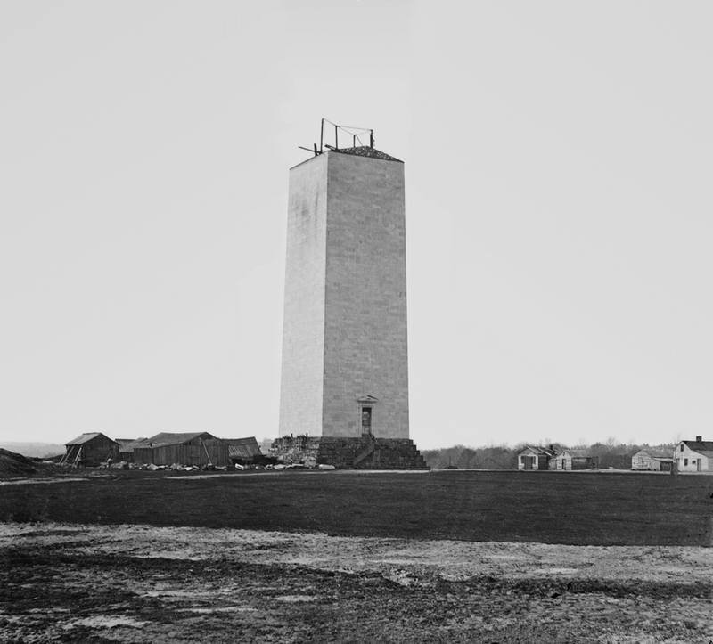 Washington Monument circa 1860 - Brady-Handy (Копировать)