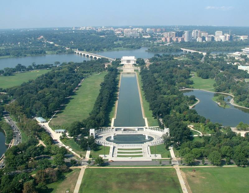 Reflecting Pool from Washington Monument (Копировать)