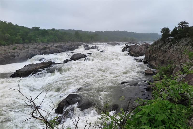 Национальный парк Грейт-Фолс в штате Мэриленд