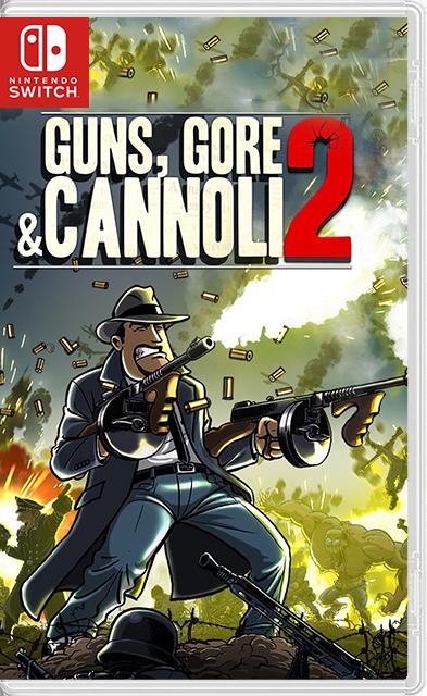 Guns, Gore and Cannoli 2 Switch NSP XCI