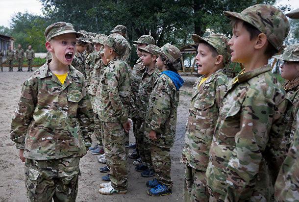 детский батальон Азовец Украина