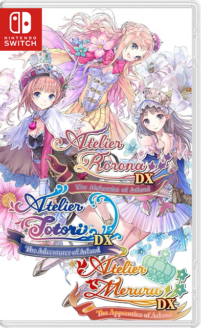 Atelier Arland series Deluxe Pack 1+2+3 Switch NSP