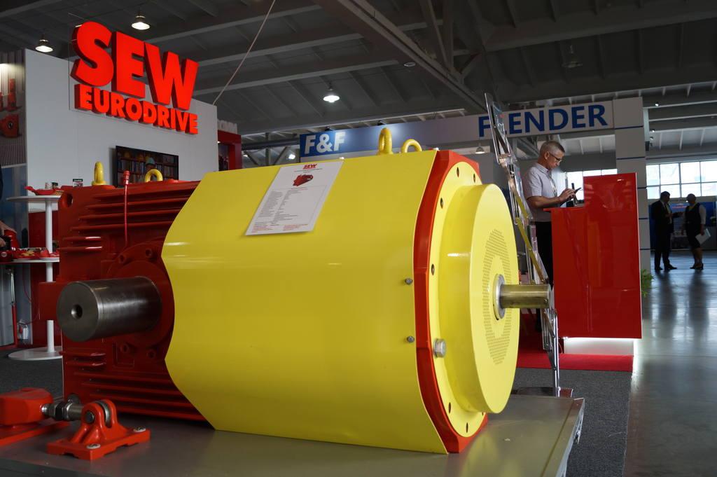 Коническо-цилиндрический редутор, 250 кВт