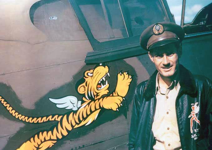 Flying tigers pilot