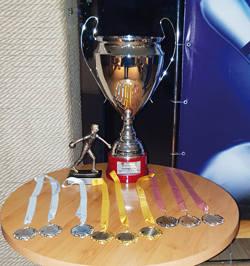 Кубок турнира по боулингу в борьбе за Кубок АО «Сибнииобогащение»