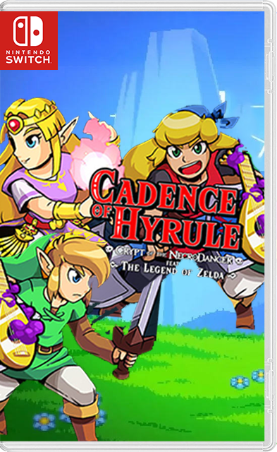 Cadence of Hyrule Crypt of the NecroDancer featuring The Legend of Zelda Switch NSP