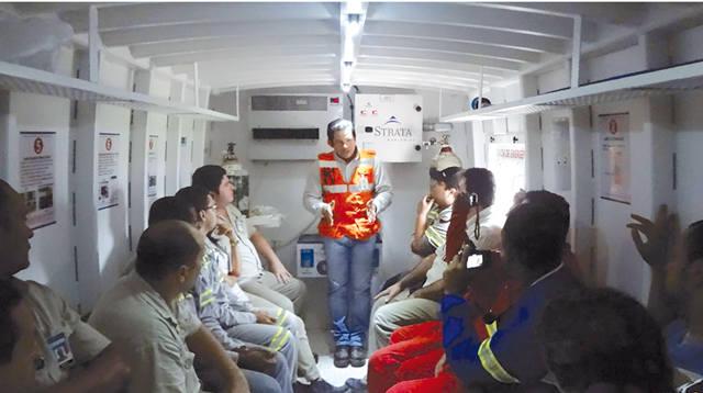 Камера аварийного спасения, Strata worldwide, Alpha-Safety